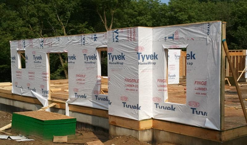 Tyvek Housewrap Example