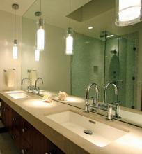 Bathroom Pendant Sconces lighting your master bath | ann arbor builders